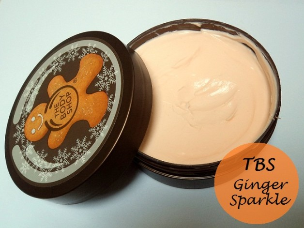 the body shop ginger sparkle body butter review blog