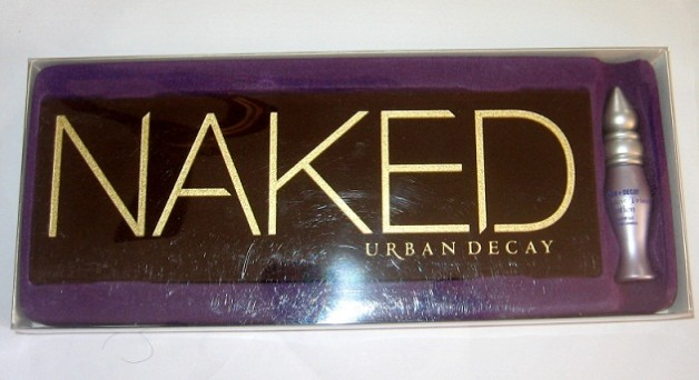 urban decay naked eyeshadow palette review