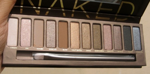 urban decay naked eyeshadow palette review swatch india