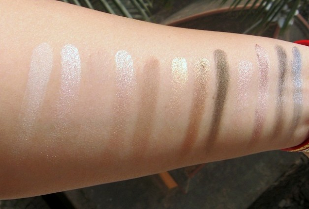 urban decay naked eyeshadow palette review swatch