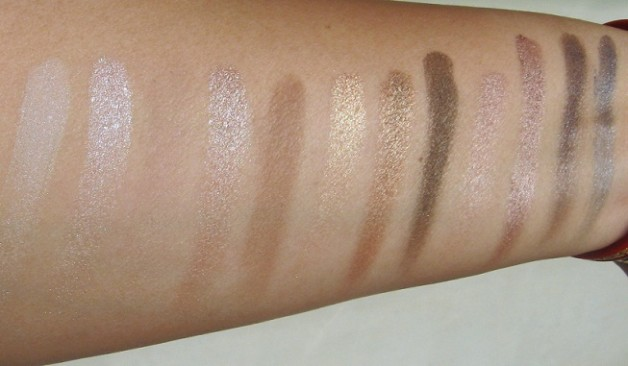 urban decay naked eyeshadow palette review swatches