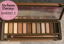 urban decay naked2 eyeshadow palette review swatches blog