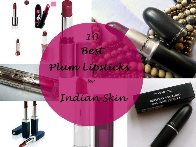 10 Best Plum Lipsticks for Indian Skin Tones