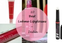 10 best lakme lipglosses available in india