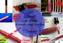 10 best lip glosses available in india