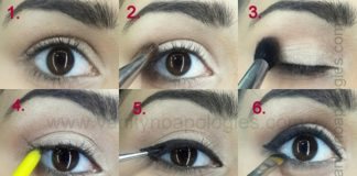 ADELE GOLDEN GLOBE INSPIRED cat eye makeup tutorial step by step