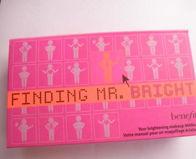 Benefit Finding Mr Bright kit review swatches blog