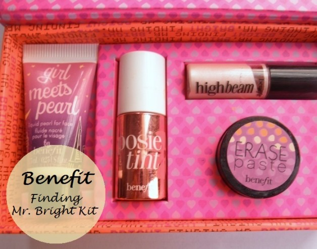 Benefit Finding Mr Bright kit review swatches india