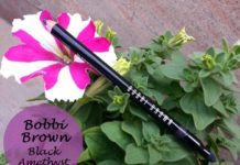 Bobbi Brown Smokey Kajal Eyeliner black amethyst Review Swatches blog