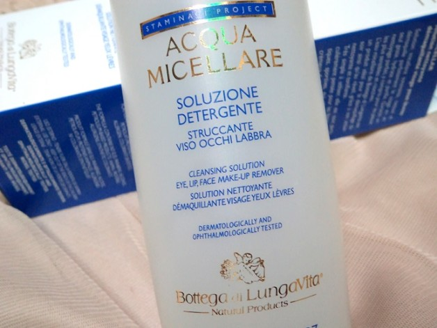 Bottega Di Lungvita Vita Age Aurum acqua Micellare solution review