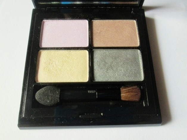 Elizabeth Arden Color Intrigue Eyeshadow Quad Golden Lilac Review swatches india