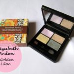 Elizabeth Arden Color Intrigue Eyeshadow Quad Golden Lilac: Review, Swatches and EOTD