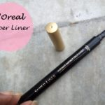 L'Oreal Paris Super Liner Instant Impact Felt Liner: Review and Swatches
