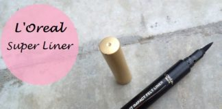 L'Oreal Paris Super Liner Instant Impact Felt Liner review swatches india