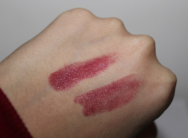 Lakme Absolute Creme Lipstick Sheer Berry review swatches