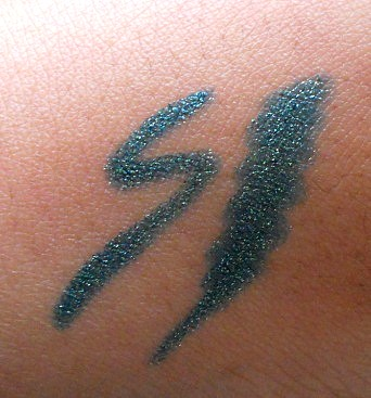 MAC Pearlglide Intense Eyeliner Undercurrent review swatch