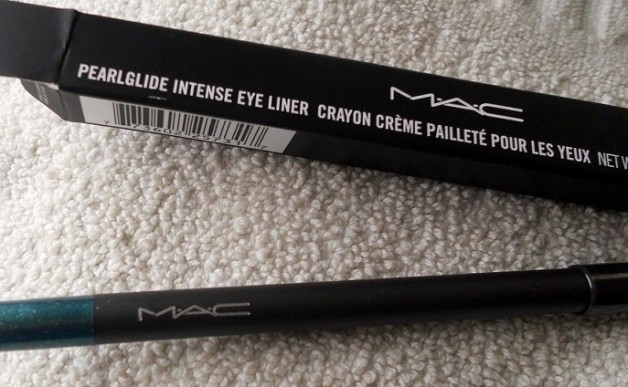 MAC Pearlglide Intense Eyeliner Undercurrent review swatches blog