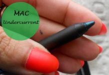 MAC Pearlglide Intense Eyeliner Undercurrent review swatches india