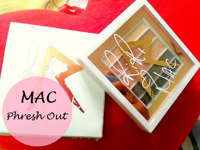 MAC Phresh Out Veluxe Pearlfusion Eyeshadow Palette Review Swatches blog