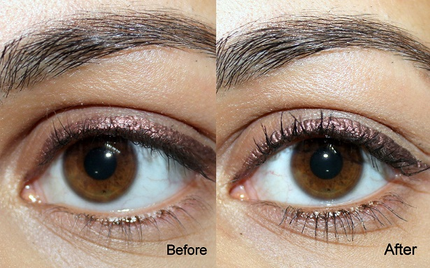 Maybelline The Falsies Volume Express Mascara Waterproof Review before after