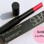 NARS Carthage Pure Matte Lipstick: Review and Swatches