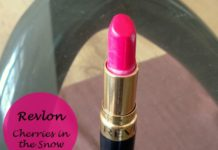 Revlon Super Lustrous Lipstick Cherries in the Snow review swatches photo