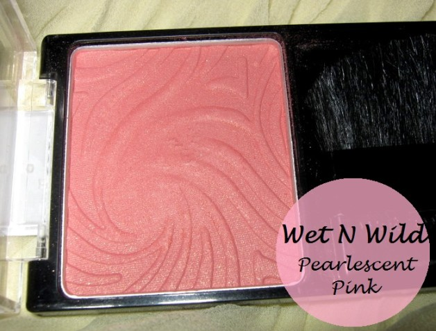 Wet N Wild COLOR ICON Blush Pearlescent Pink review swatches blog