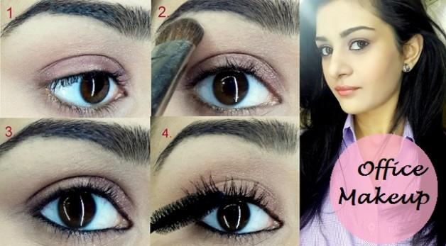 easy simple office makeup tutorial