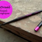 L'oreal Paris Kajal Magique: Review and Swatches