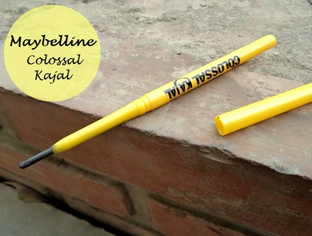 maybelline colossal kajal review swatches photo