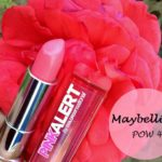Maybelline Pink Alert Lipstick POW 4: Review, Swatches and FOTD