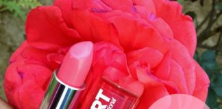 maybelline pink alert POW4 lipstick review swatches blog