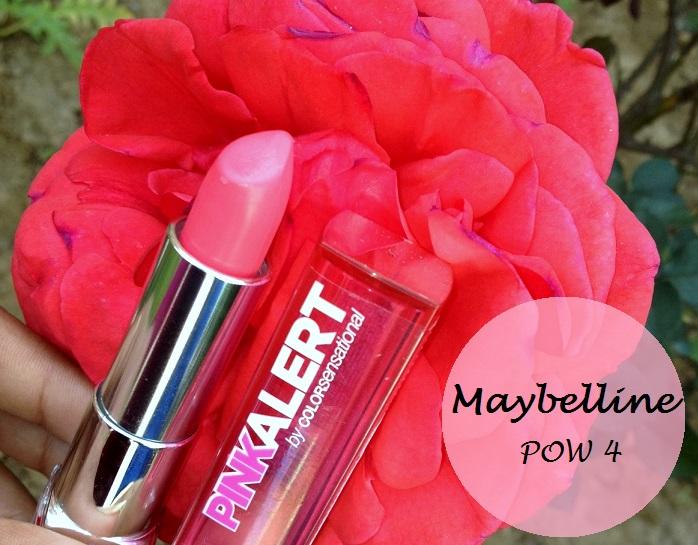 Maybelline Pink Lipstick Swatches Maybelline Pink Alert Lipstick