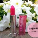 Maybelline Pink Alert Lipstick POW 2: Review, Swatches and FOTD