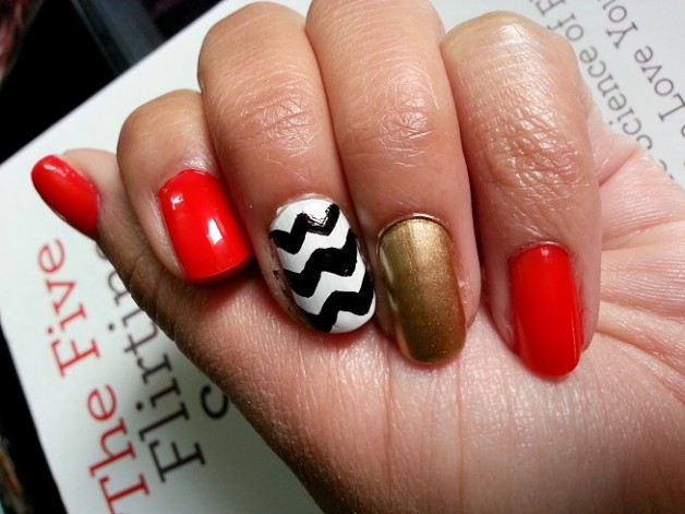 the five flirting styles book Jeffrey A Haul review nail art