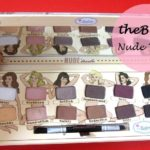 theBalm Nude 'tude Eyeshadow Palette: Review and Swatches