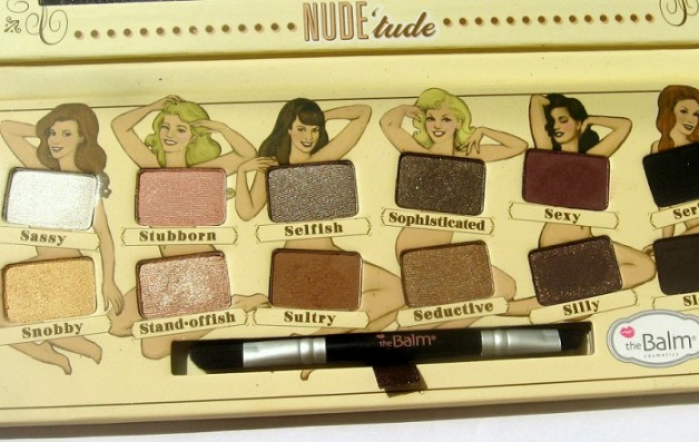 theBalm Nude tude Eyeshadow Palette Review swatches photo
