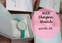 win skagen watch online india blog contest