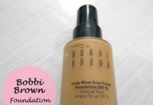 Bobbi Brown Long Wear Even Finish Foundation Spf15 review swatches blog