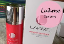 Lakme Perfect Radiance Intense Whitening Polishing Serum review price india