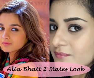 Tutorial: Alia Bhatt 2 States Inspired Makeup Look for College Girls