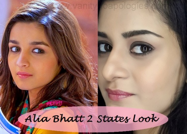 alia bhatt 2 states look inspired makeup tutorial step by step