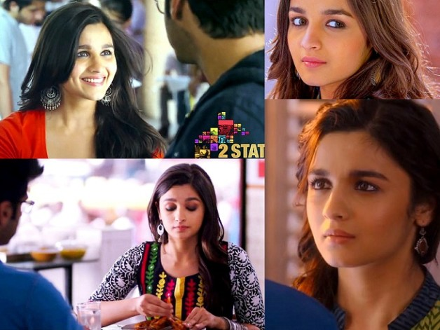 alia bhatt makeup in 2 states