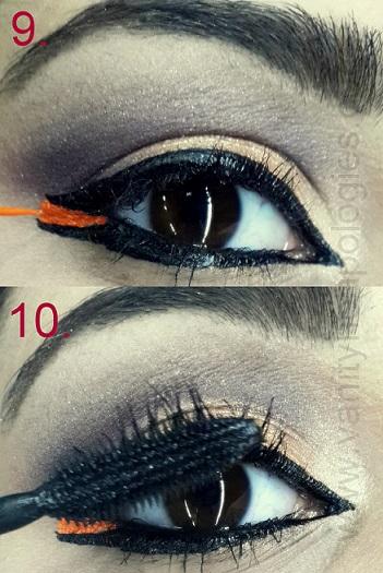 arabic bold eye makeup tutorial step9 10