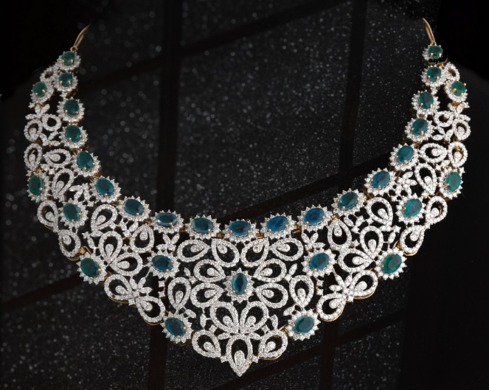 Bridal Necklace Designs Indian Kalyan Jewellery