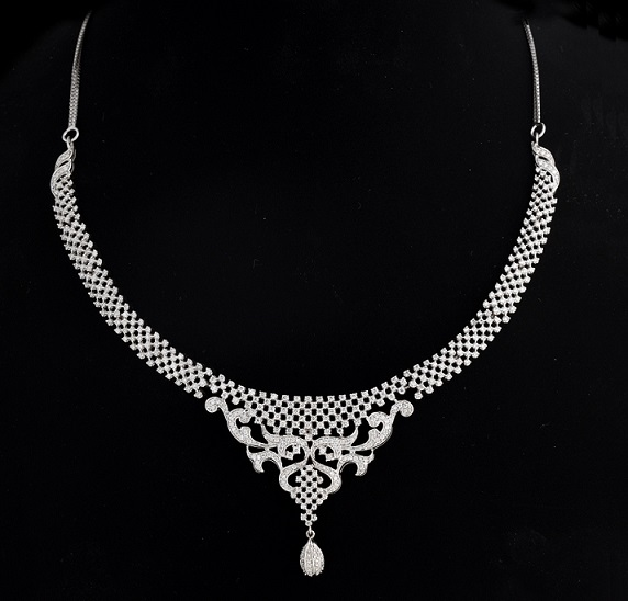 diamond necklaces kalyan jewellers india
