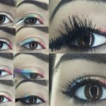 Tutorial: How To Do Rainbow Eye Makeup/Eyeliner Look Easily