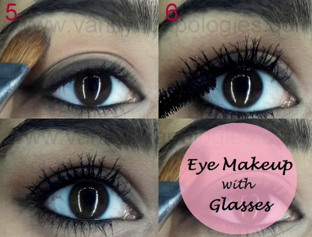 eye makeup tutorial for girls who wear glasses