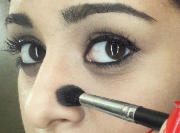 how to contour makeup tutorial step6