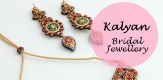 indian bridal necklace earrings set designs buy online kalyan jewellers